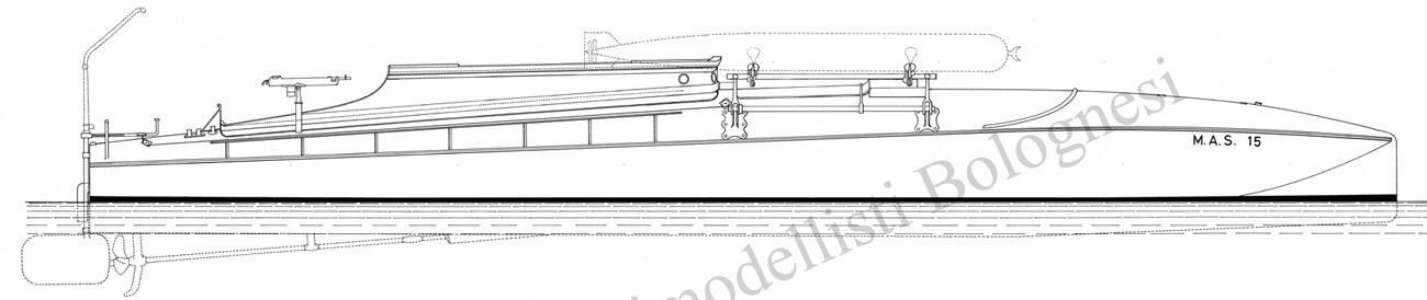 0343 mas 15 versione silurante l f t 16 m 1 20 for Disegnare piani di costruzione online gratuitamente