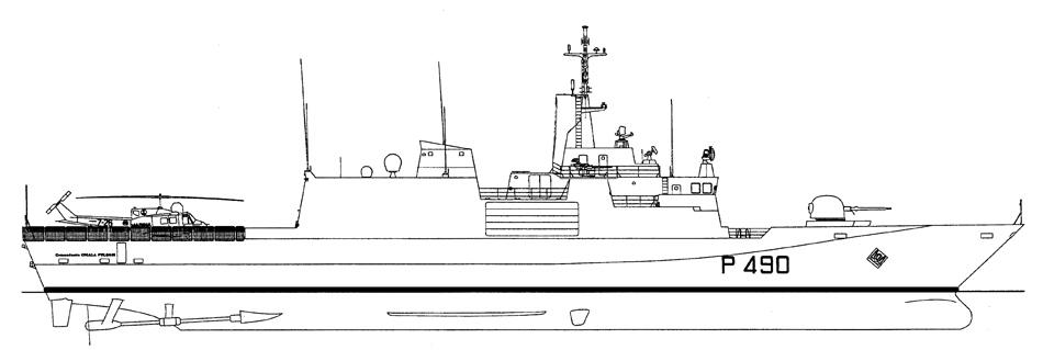 1627 pattugliatori classe comandanti l f t 88 60 m 1 for Piano di costruzione online