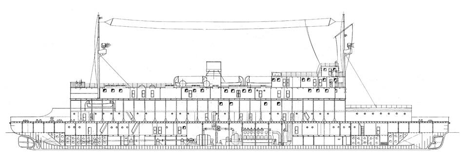 1180 traghetto per lo stretto di messina l f t 101 39 m for Piano di costruzione online