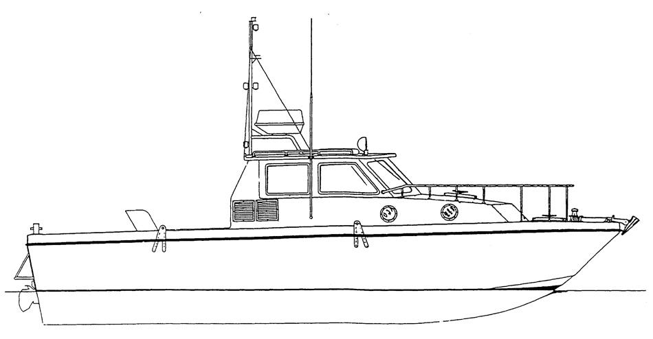 0743 motoscafo da metri 11 1 10 associazione for Disegnare piani di costruzione online gratuitamente