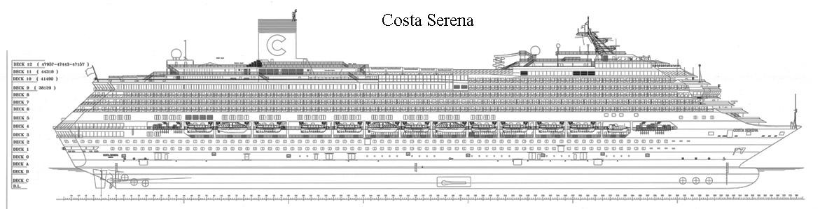1726 costa serena l f t 290 20 m scala 1 200 for Piano di costruzione online